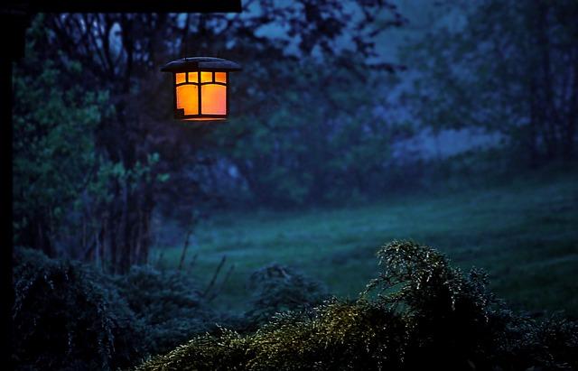 venkovní lucerna