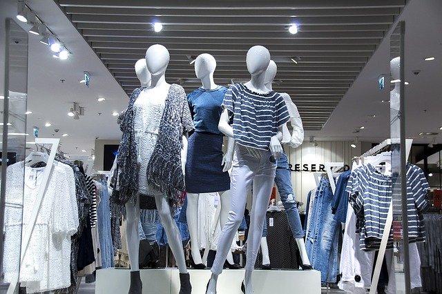 Oblečení ve výloze