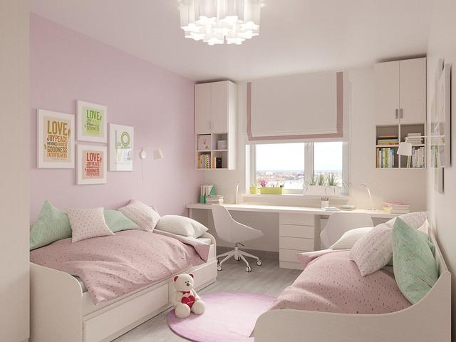dětský pokoj pro malé holčičky
