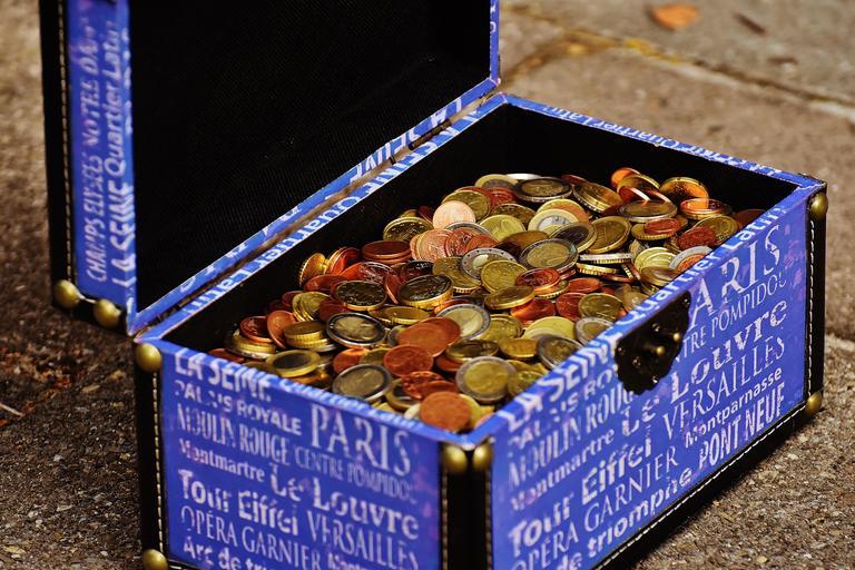pokladnička na mince